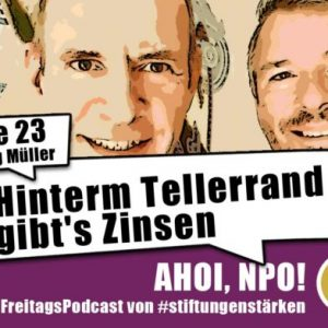 Unser neuer Freitagspodcast mit Jörg Müller